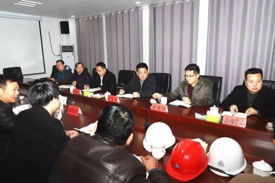 吴高波到贵州华电桐梓发电有限公司和茅石永福贵水泥厂调研